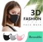 "Preview: Waschbare Community-Gesichtsmaske ""Breathe Smootly"" 3 er Set"